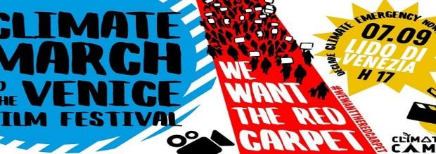 Slider – Climate March al Lido di Venezia