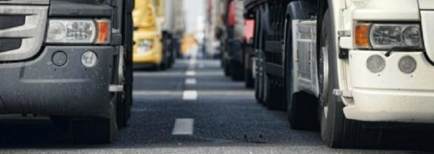 Slider – Romea: vietare subito il transito ai TIR